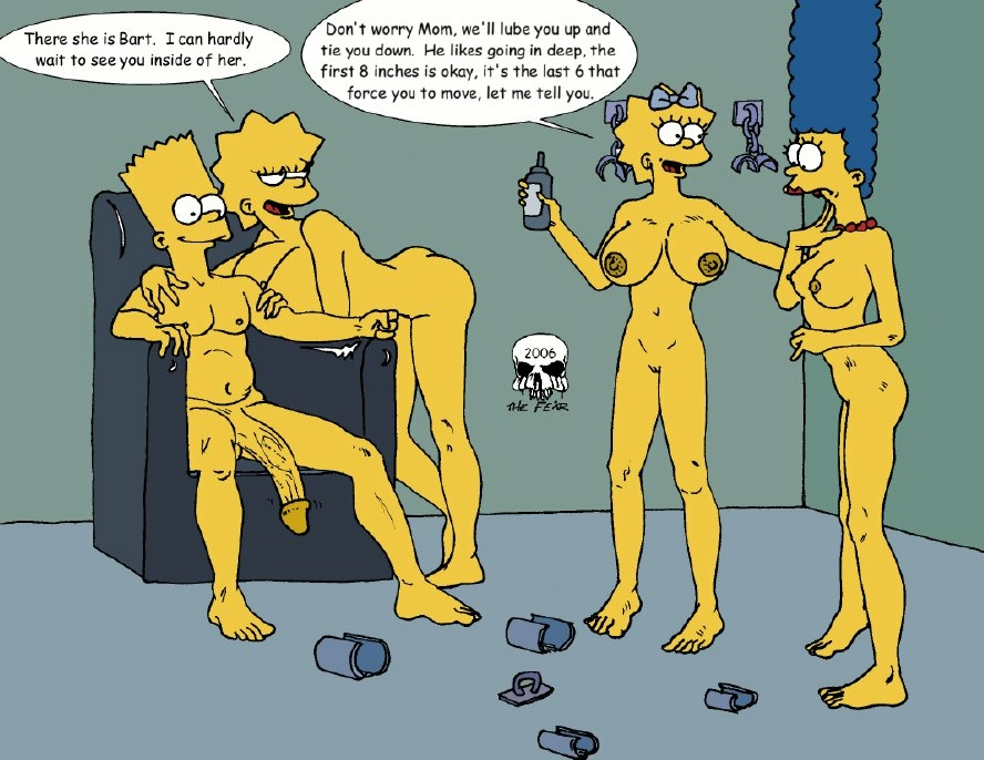 the bart fear marge imagefap and Rick and morty incest hentai