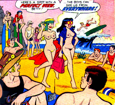 betty and veronica As told by ginger xxx