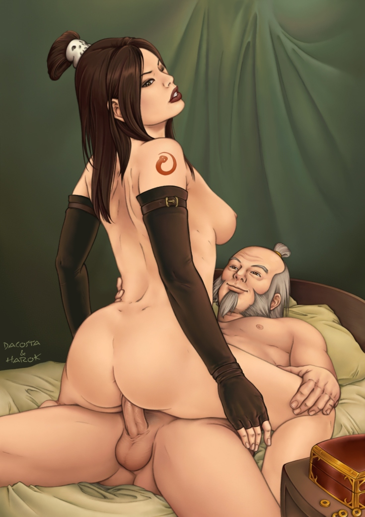 the airbender avatar mei last The ancient magus bride porn