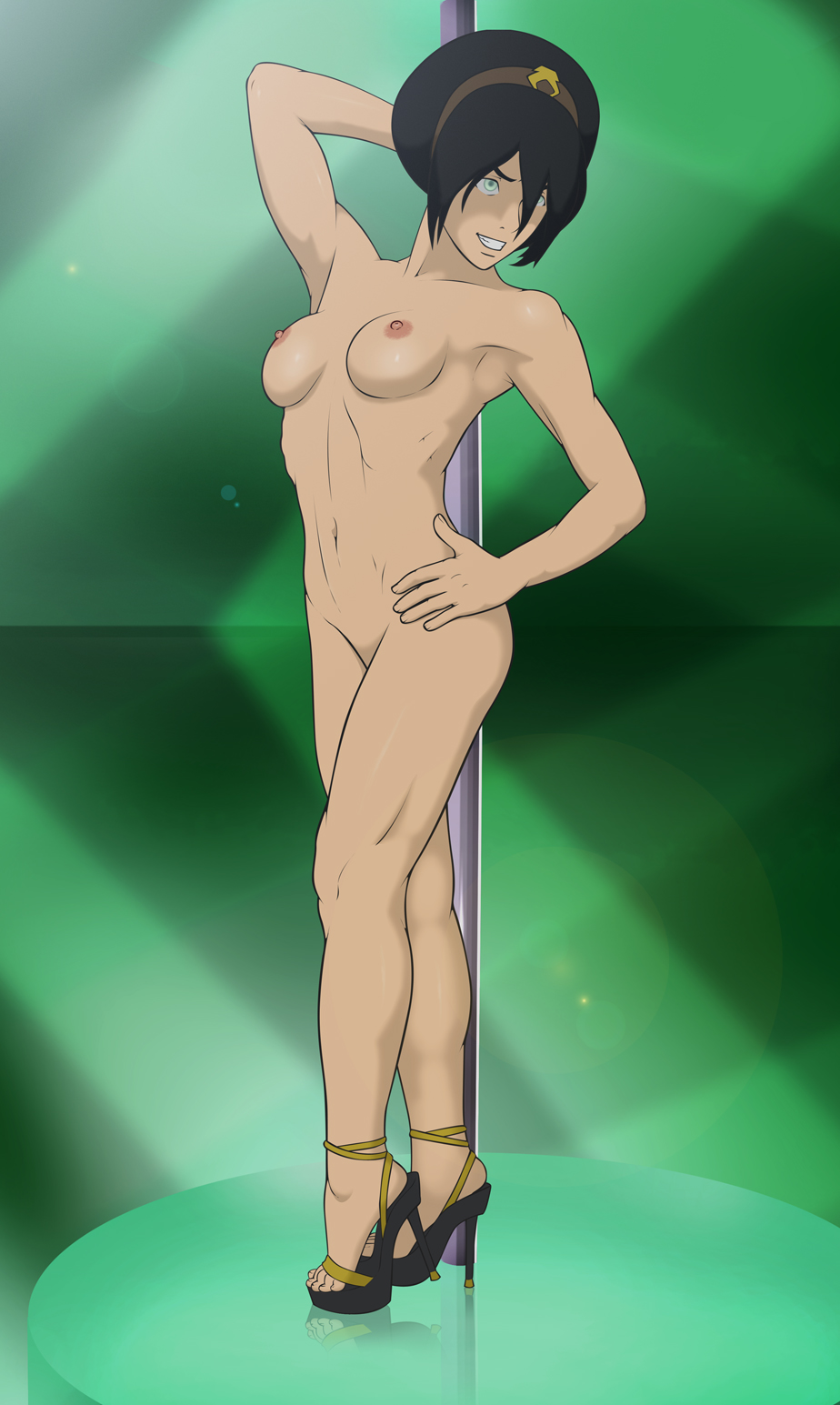 kya of korra the legend Justice league morgaine le fay