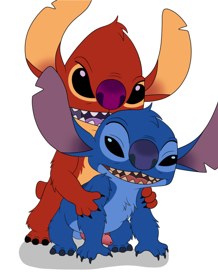and stitch naked from lilo nani Fosters home for imaginary friends mac's mom